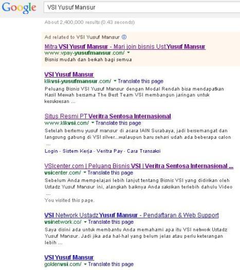 VSI Google