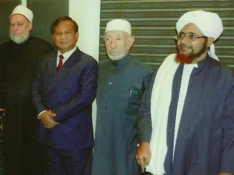 Prabowo dan Syeikh Ali Jum'ah