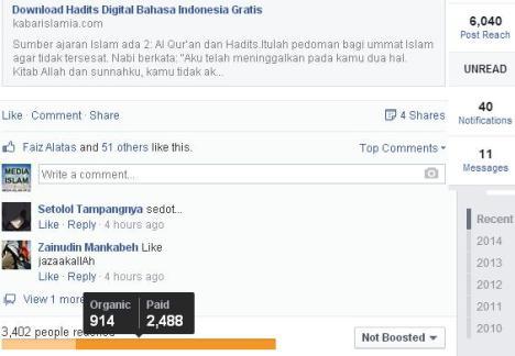 Iklan Facebook