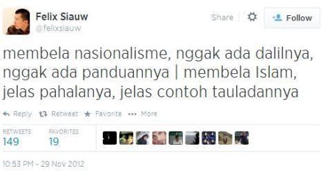 Felix Siauw Tanah Air