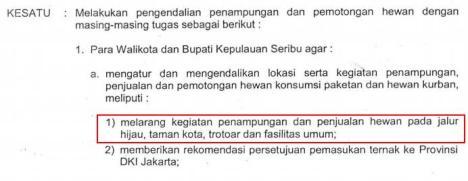 Instruksi Gubernur No. 67 Tahun 2014
