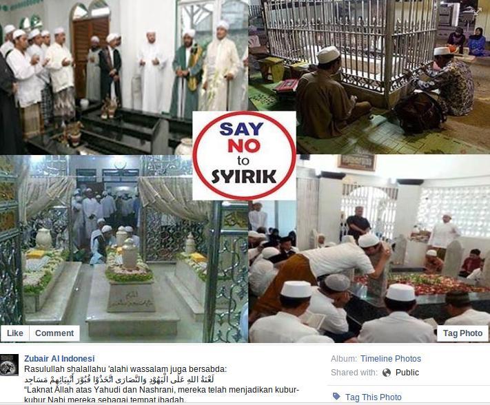 Jangan Tuduh Ummat Islam Syirik / Musyrik