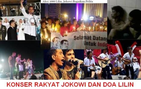 Konser Jokowi