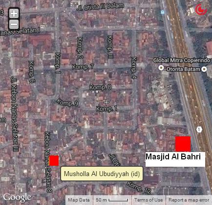 Peta-Masjid-Al-Bahri