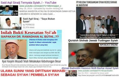 Sunni Difitnah Wahabi