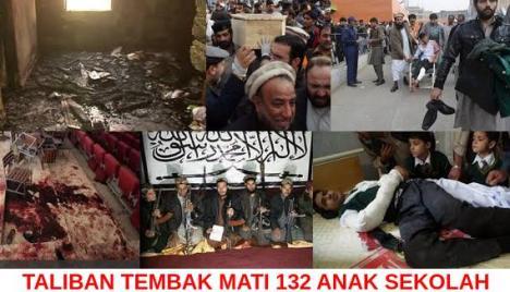 Taliban Tembak 132 Anak Sekolah