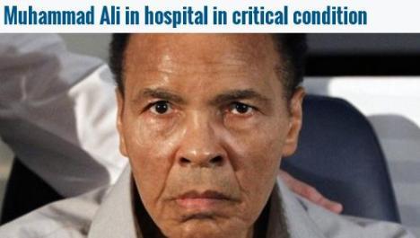 Muhammad Ali Kritis