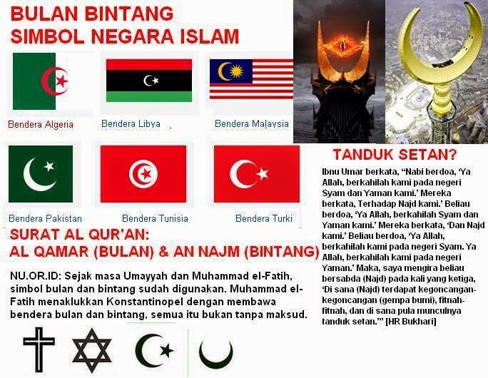 Bulan Bintang Lambang Penyembah Berhala Kabar Tentang Dunia Islam