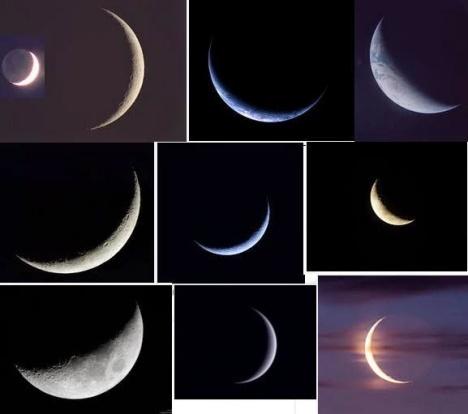 Bulan Sabit Miring