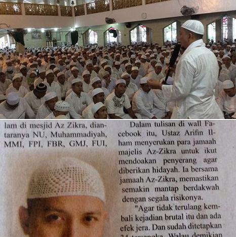 Ustad Arifin Ilham Setelah Penyerangan
