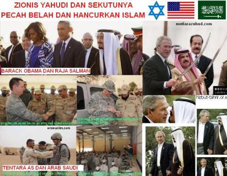 Zionis Yahudi dan Sekutunya