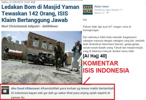 KOMENTAR ISIS