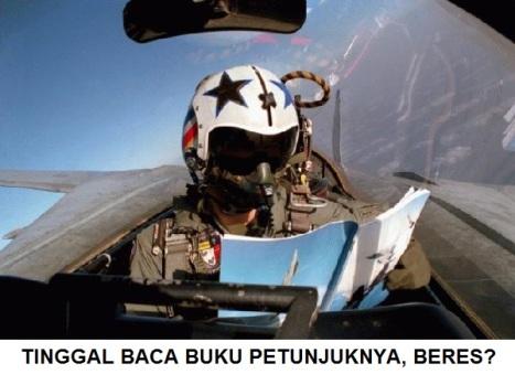 PILOT BACA PETUNJUK