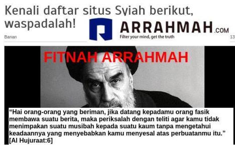 Fitnah Arrahmah
