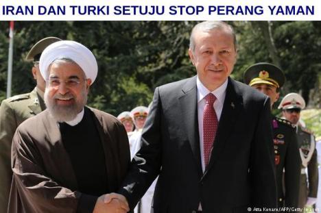 Iran dan Turki Stop Perang Yaman