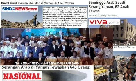 serangan Arab Saudi DAI ASEAN
