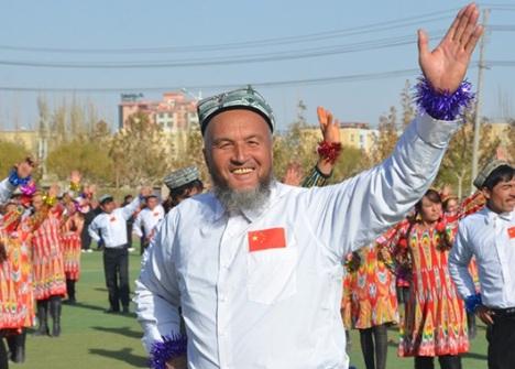 Tarian XinJiang Senyum