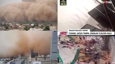 Kumpulan Video Badai Pasir Yang Melanda Arab Saudi