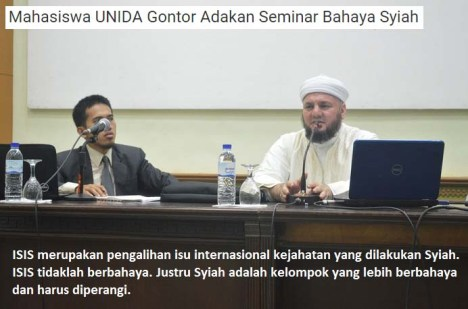 Seminar Syi'ah Gontor