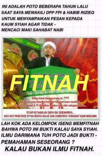 Ustad Solmed Fitnah
