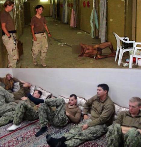 Perbandingan cara Tentara AS dan Iran memperlakukan tawanan