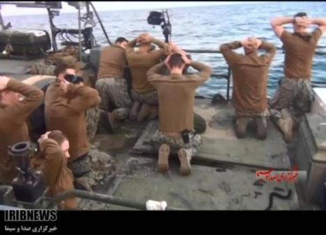Tentara AS Ditangkap Iran