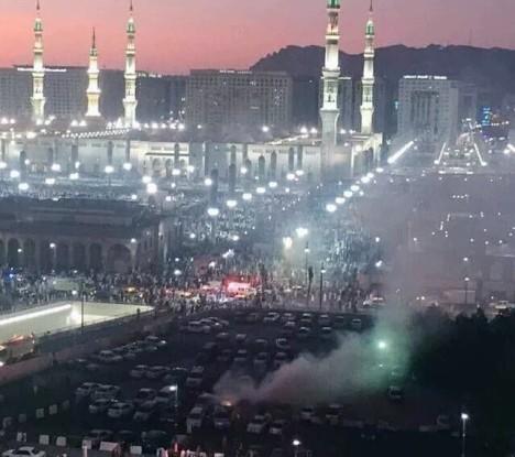 Masjid Nabawi dibom