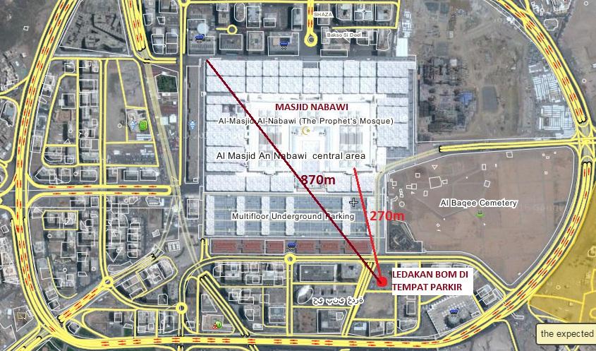 Pemboman di Kota Madinah | Kabar tentang Dunia Islam