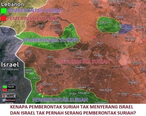 pemberontak-suriah-israel